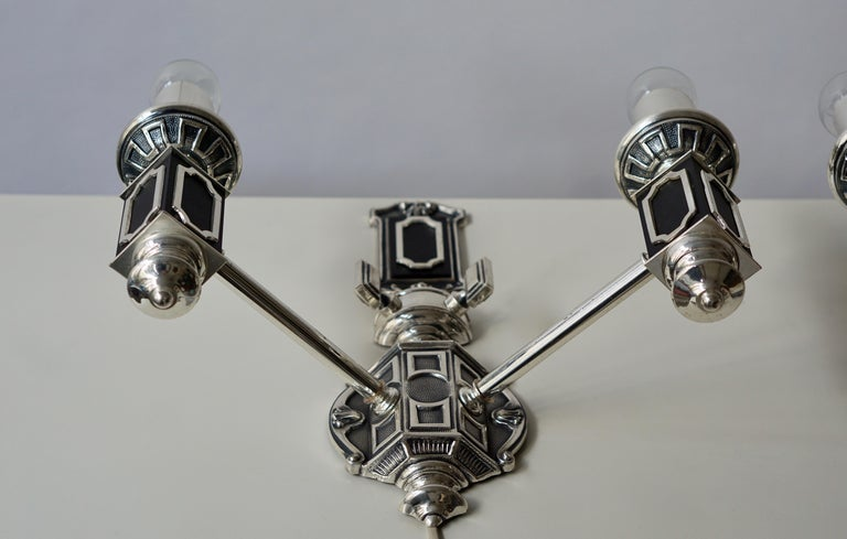 Pair of Midcentury Wall Lights For Sale 6