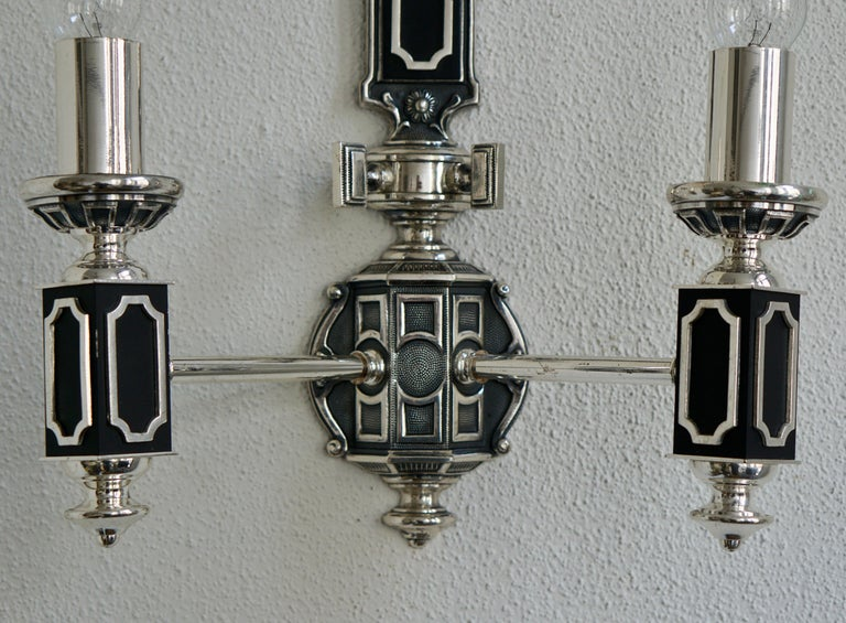 Pair of Midcentury Wall Lights For Sale 8