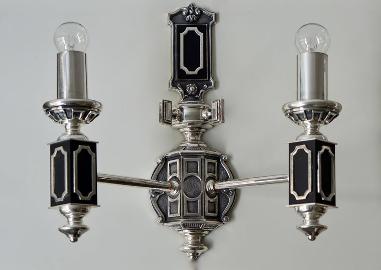 Pair of Midcentury Wall Lights In Good Condition For Sale In Antwerp, BE