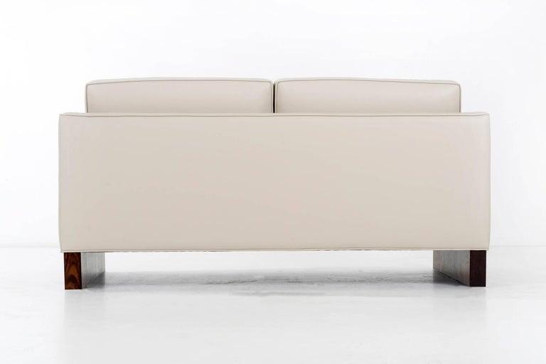 American Pair of Mies Van der Rohe Settees For Sale