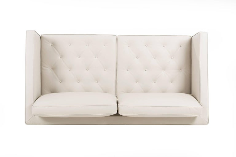 Pair of Mies Van der Rohe Settees In Excellent Condition For Sale In Chicago, IL