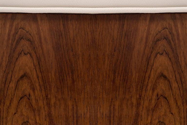 Rosewood Pair of Mies Van der Rohe Settees For Sale