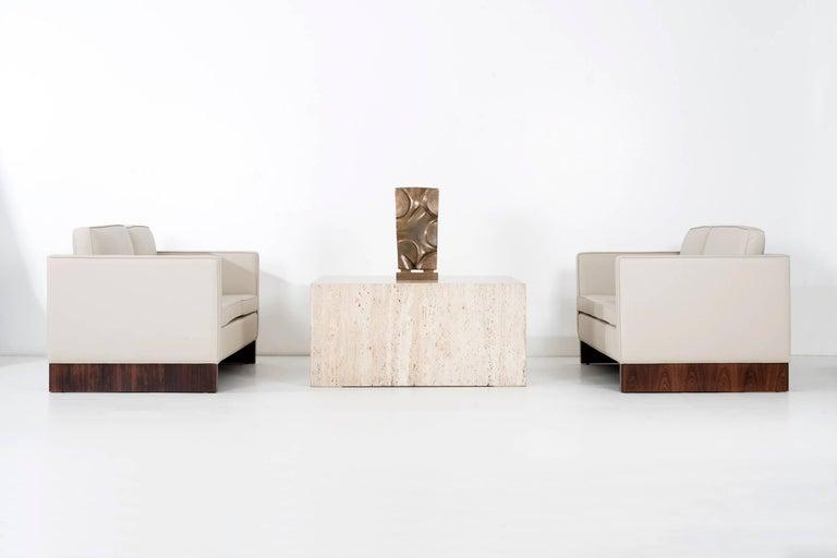 Pair of Mies Van der Rohe Settees For Sale 2
