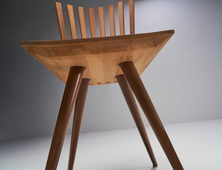 Pair of 'Mikado' Chairs by Johannes Foersom and Peter Hiort-Lorenzen of Nutwood For Sale 7