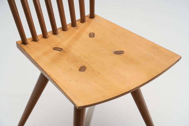 Pair of 'Mikado' Chairs by Johannes Foersom and Peter Hiort-Lorenzen of Nutwood For Sale 2