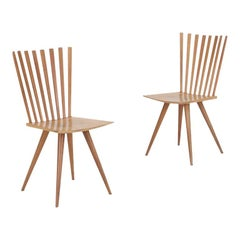 Pair of 'Mikado' Chairs by Johannes Foersom and Peter Hiort-Lorenzen of Nutwood