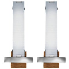 Pair of Miles Sconces Limited Editions, # 1 and 2 of 12, Signed & Numbered
