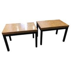 Pair of Milo Baughman End Tables
