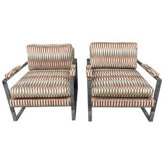 Pair of Milo Baughman for Thayer Coggin Lounge Chairs