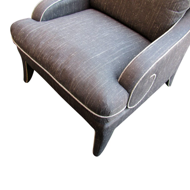 American Pair of Lounge Chairs by Milo Baughman for Thayer Coggin  For Sale