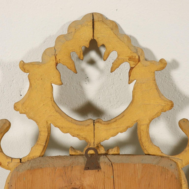 Pair of Mirrors Rococo, Italy, Mid-19th Century For Sale 4