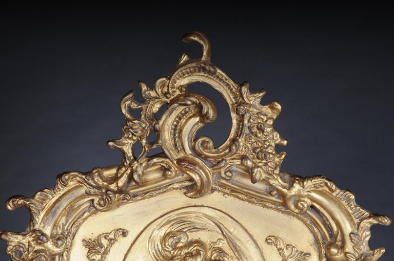 20th Century Pair of Mirrors or Wall Mirror in Louis XV / Baroque Style For Sale