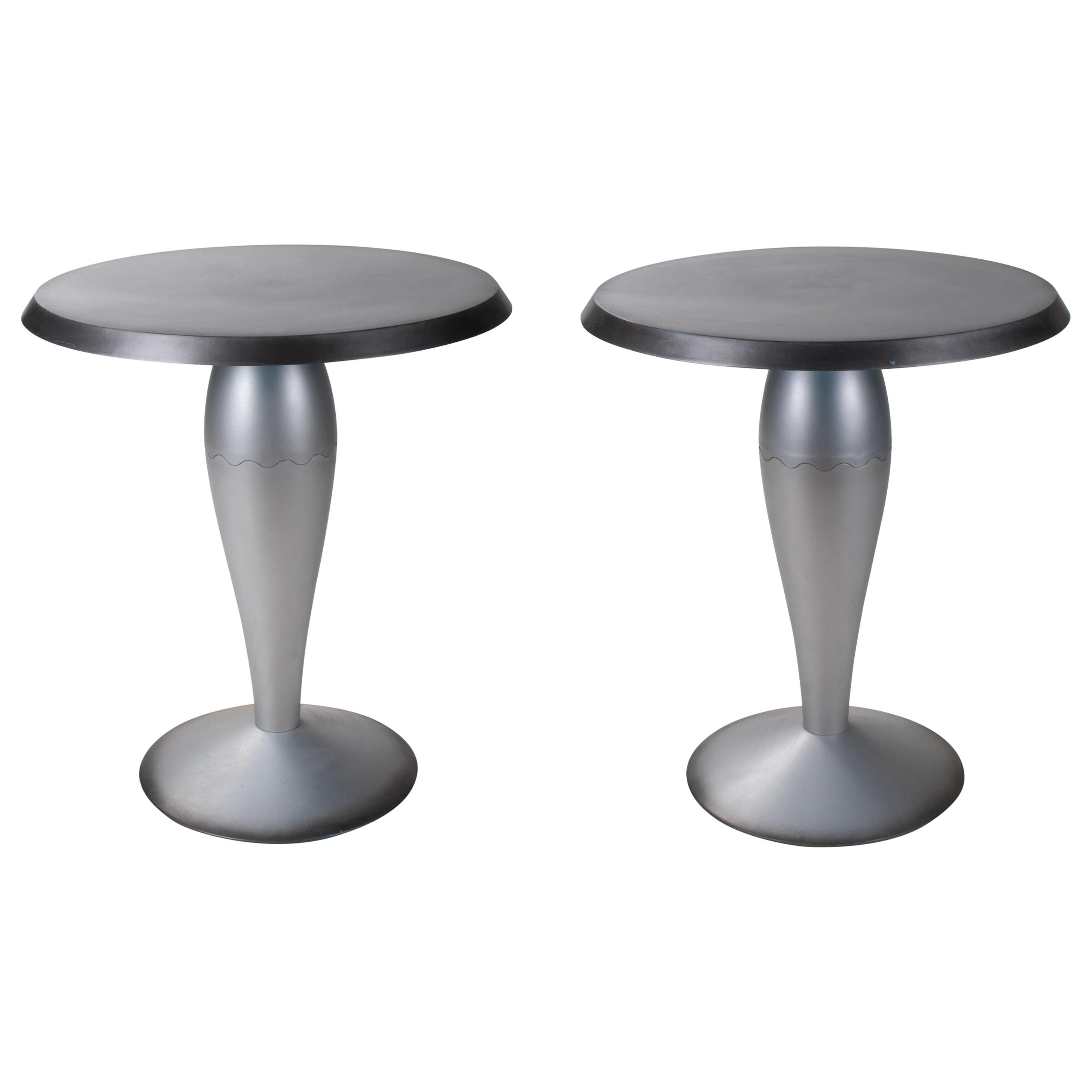 """Pair of """"Miss Balù"""" Tables by Philippe Starck for Kartell"""