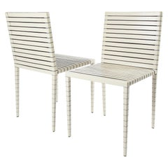 Pair of MM Series chairs by Jean Nouvel for Matteo Grassi