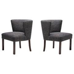 "Pair of ""Model 1514"" Chairs by Fritz Hansen, Denmark 1940s"