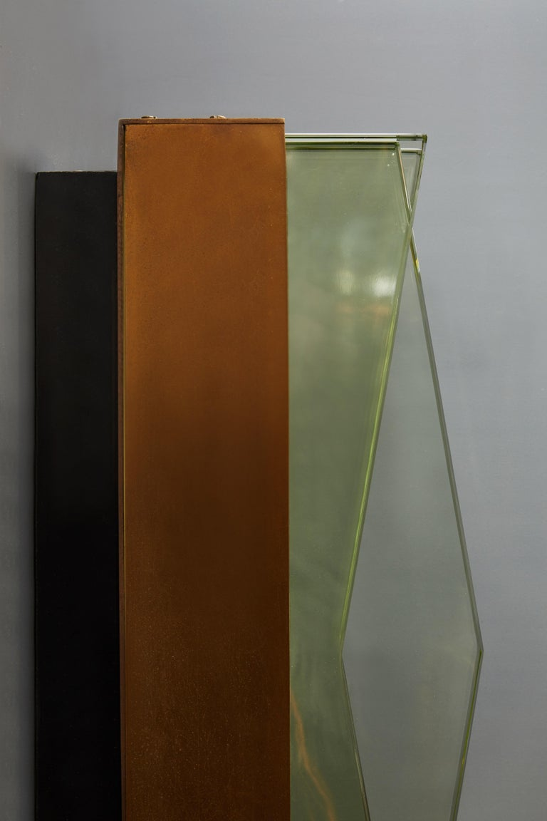 Mid-20th Century Pair of Model 1829 Wall Sconces by Max Ingrand for Fontana Arte For Sale