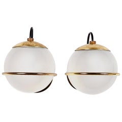Pair of Model 237/1 Sconces by Gino Sarfatti for Arteluce