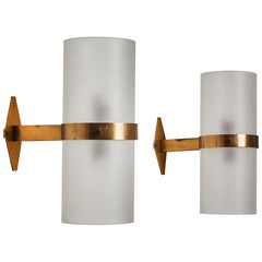 Pair of Model B324 Sconces by Candle