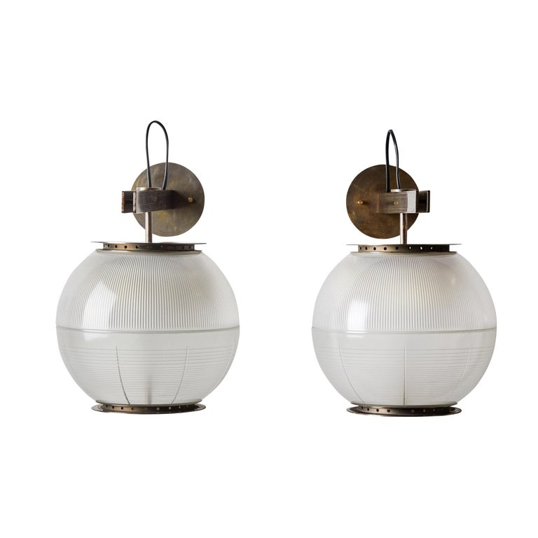 Pair of Model Lp7 Sconces by Ignazio Gardella for Azucena For Sale