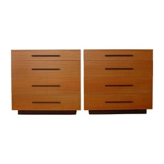 Pair of Modern Dressers, USA, 1940s, Sold Individually