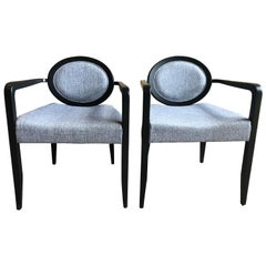 "Pair of Modern ""Elizabetha"" Armchairs by Capdell"