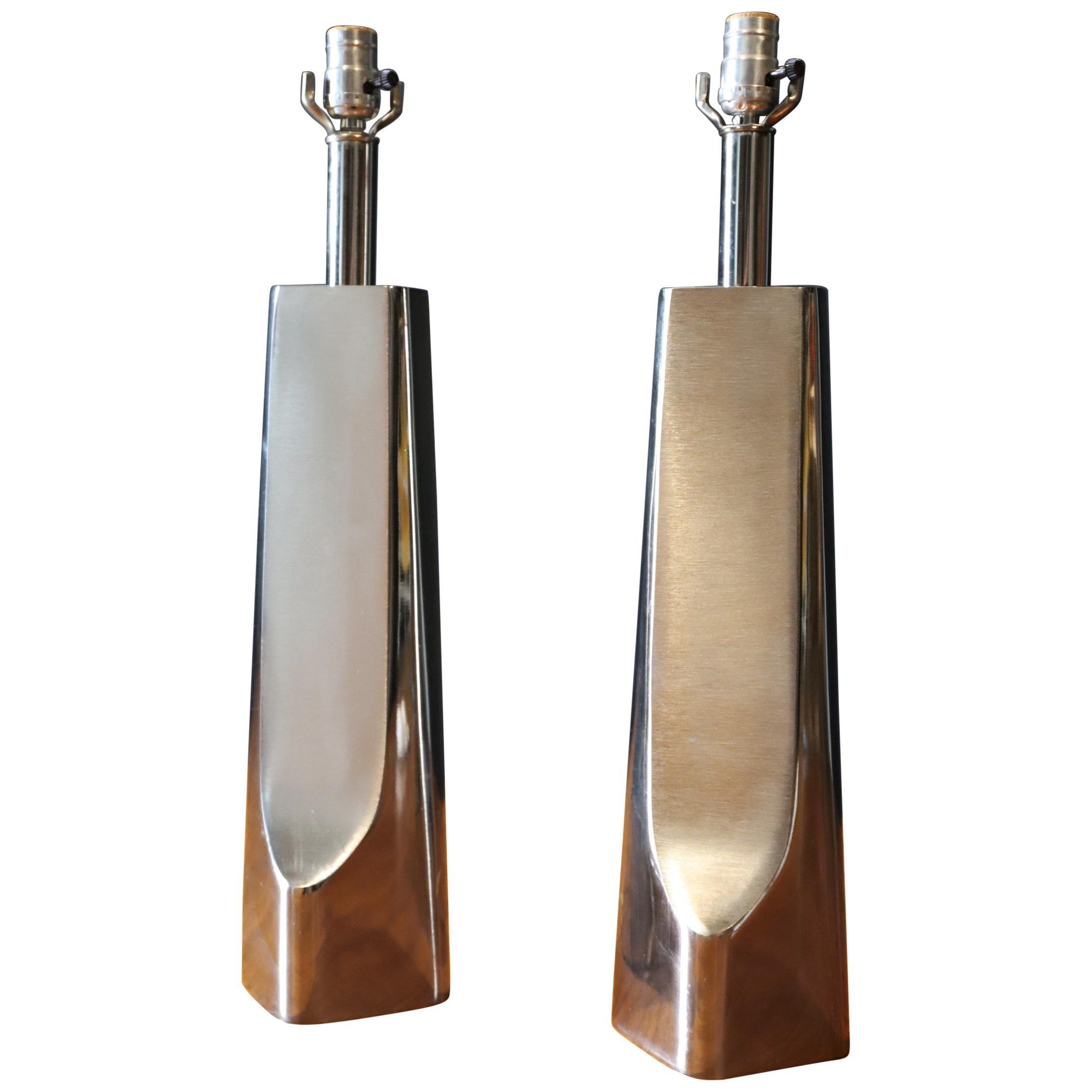 Pair of Modern Lamps by Laurel Lamp Co