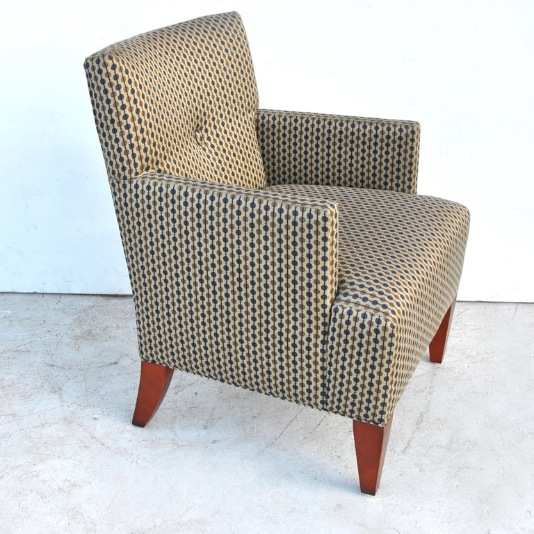 Mid-Century Modern Pair of Modern Lounge Chairs by Hickory Furniture For Sale