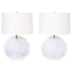 Pair of Modern Spike Table Lamps