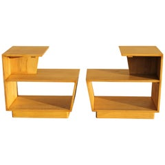 Pair of Moderne End Tables