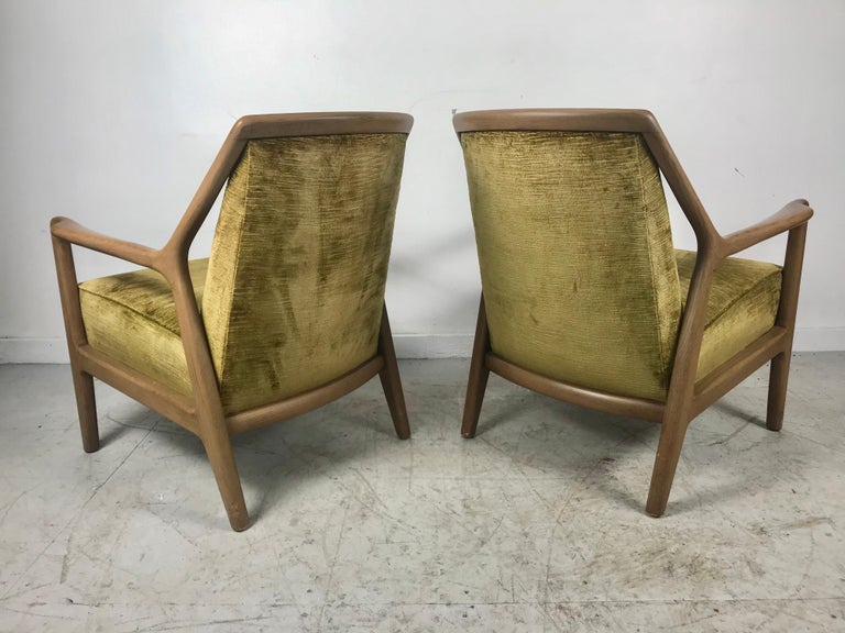 Mid-20th Century Pair of Modernist Ash Group Chairs by Jack Van der Molen for Jamestown Lounge For Sale