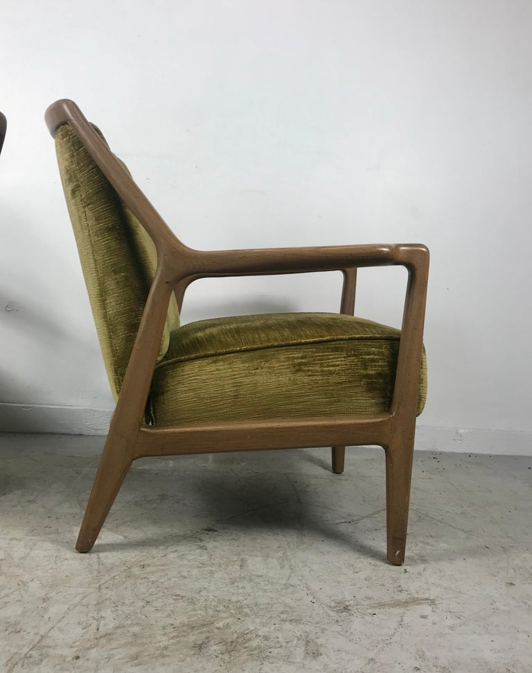 Pair of Modernist Ash Group Chairs by Jack Van der Molen for Jamestown Lounge For Sale 2