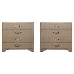 Pair of Modernist Dressers Designed by Lorin Jackson for Grosfeld House, circa
