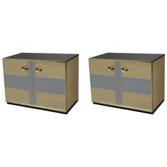 Pair of Modernist Italian Cabinets