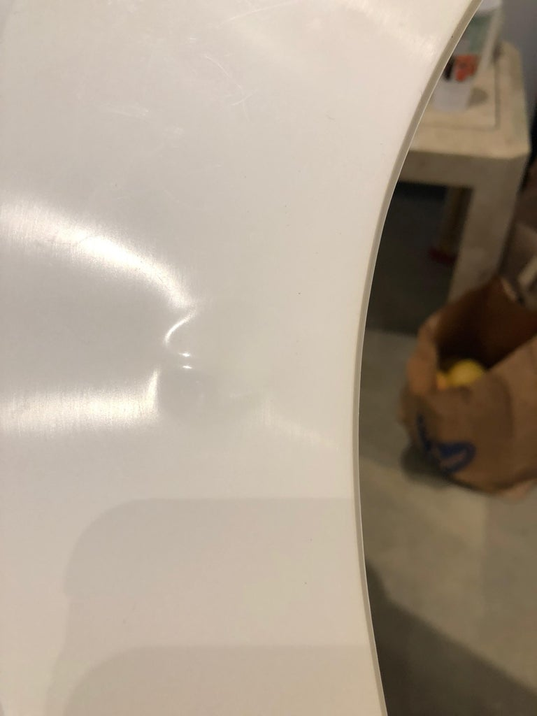 Pair of Modernist Square RAAK Amsterdam White Sconces / Flushmount Lighting For Sale 11