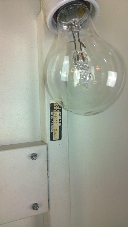 Late 20th Century Pair of Modernist Square RAAK Amsterdam White Sconces / Flushmount Lighting For Sale