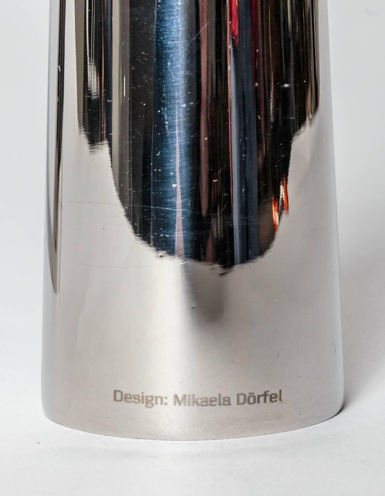 20th Century Pair of Modernist Mikaela Dorfel Candle holders. Offered by Funky Finders For Sale