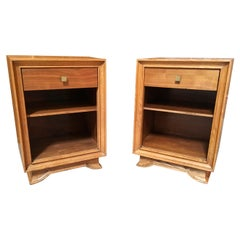 Pair of Modernist Night Stands