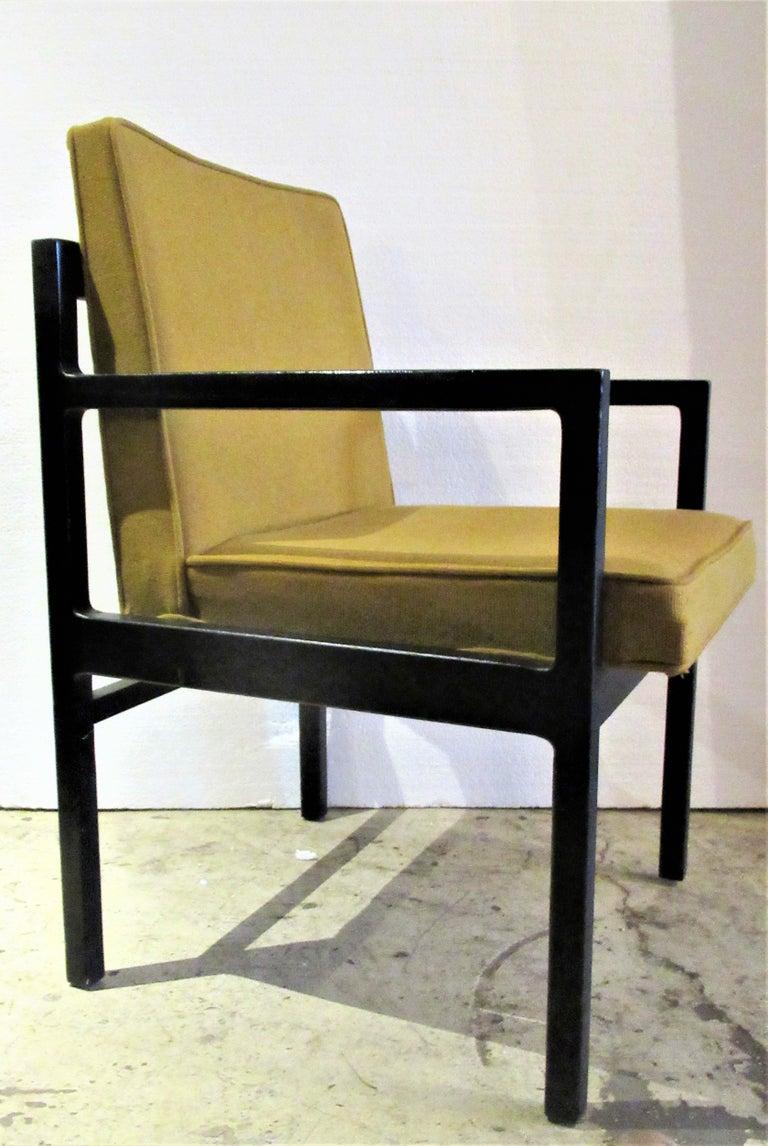 Pair of Modernist Oak Armchairs in Original Blackened ...