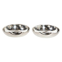 Pair of Modernist Sterling Candle Holders by Elsa Peretti for Tiffany & Co.