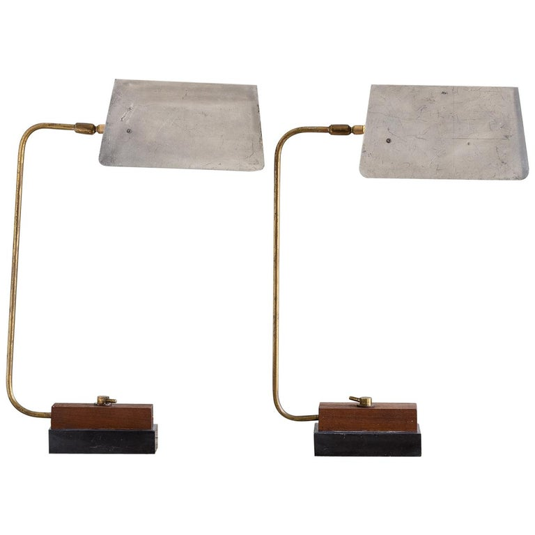 Pair of Modernist Table Lamps For Sale