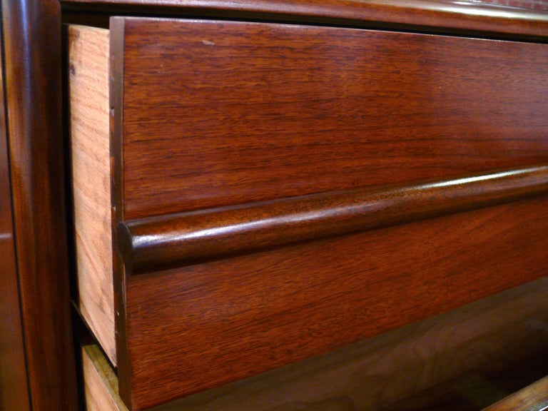 Pair  Three-Drawer Chests  or Dressers by T.H. Robsjohn-Gibbings For Sale 1