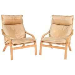 Pair of Mogens Hansen Danish Mid-Century Armchairs