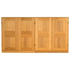 Pair of Mogens Koch Cabinets in Oak for Rud, Rasmussen