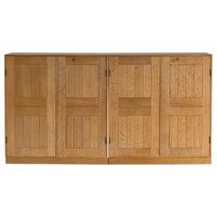 Pair of Mogens Koch Cabinets in Oak for Rud, Rasmussen