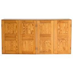 Pair of Mogens Koch Cabinets of Pine for Rud, Rasmussen