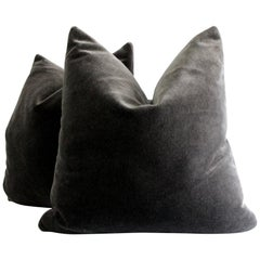 Pair of Mohair Pillows