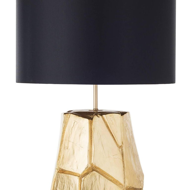 Pair of Monolithe Ceramic Table Lamps For Sale 2