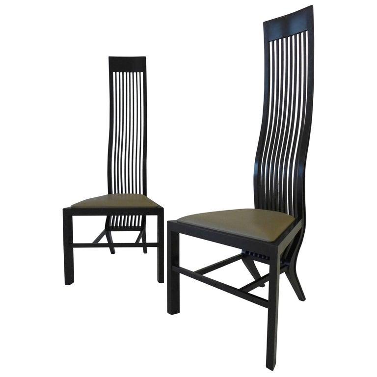 Pair of Monroe Chairs by Arata Isozaki