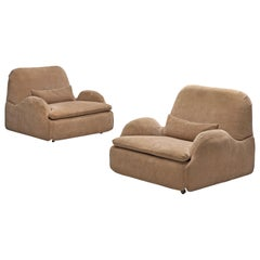 Pair of 'Montfolier' Lounge Chairs by Howard Keith