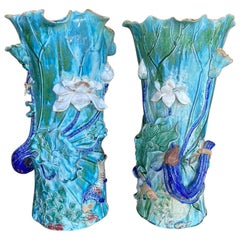 Pair of Monumental Chinese VASES